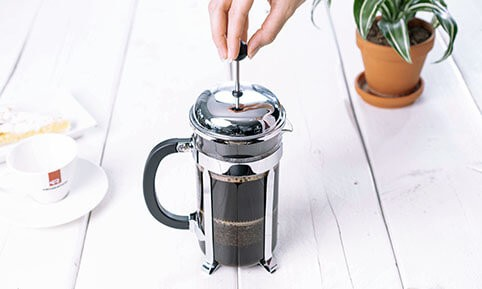 French Press | Zubereitung Pour over