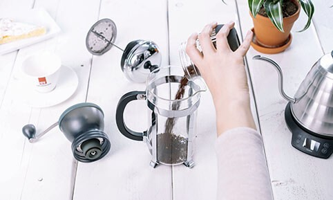 French Press | Kaffeepulver